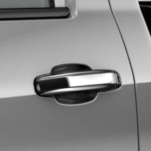 2014-2018 Silverado Sierra Genuine GM Front Chrome Door Handles 22940649