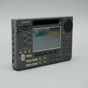 Sony Weltempfänger ICF-SW55 funktionstüchtig Aufsteller Rückseite fehlt 1.07T4U