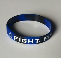 "Dallas Cowboys ""FIGHT. FINISH. FAITH."" Dak Prescott Silicon Wristbands Bracelets"