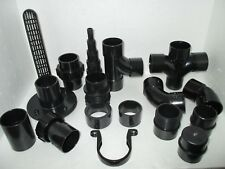 1.5 INCH SOLVENT WELD PIPE FITTINGS KOI POND