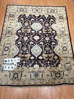 "7' x 8'9"" New Turkish Oriental Rug - Hand Made - 100% Wool"