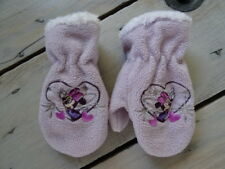 Gant Moufles violet parme en polaire brodées Minnie de DISNEY Taille 1 (3-4 ans)