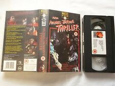 """Thriller Making of  Michael Jackson's MUSIK CLUB englisch""""  FSK ab 15J VHS gebr."""