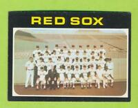 1971 Topps - Boston Red Sox Team Card (#386)