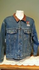 Dunbrooke Upstream Outdoor Advantage Mens Rough Rider Jeans Jacket Sz L Kelloggs