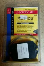 Soundgate Ford or Bose 2 Channel OEM2 Connection, Add a New Receiver, New