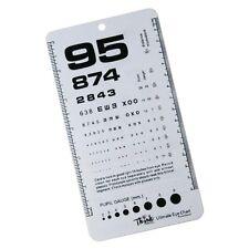 Pocket Eye Chart Rosenbaum/Snellen