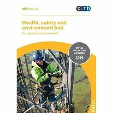 Health Safety & Environment Test For Operatives & Specialists: Gt 100/16 2016 Ne