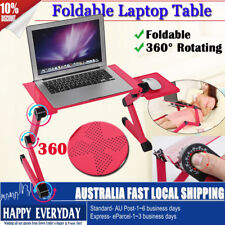 360 Adjustable Laptop Computer Foldable Stand Desk Table Tray Bed Mouse Holder
