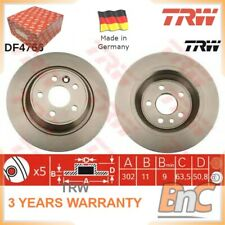 TRW DF4766 Rear Brake Disc Pack of 2