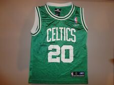 Boston Celtics #20 Gary Payton NBA Basketball Screen Jersey Youth S EXCELLENT