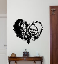 Child's Play Chucky Wall Decal Good Guy Vinyl Sticker Horror Decor Art 120aaa