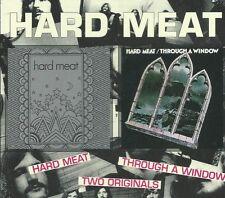 HARD MEAT - S/T + THROUGH A WINDOW 1970 UK PROGRESSIVE HEAVY ROCK SEALED CD
