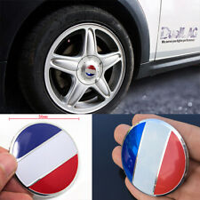 56mm French 3D Metal Car Truck Wheel Center Hub Caps Sticker Emblem Badge France