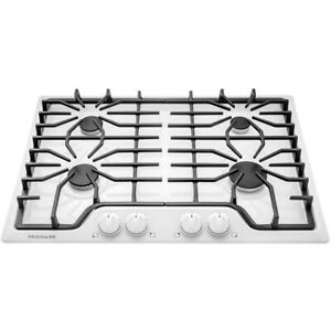 Frigidaire 30 in Gas Cooktop 4 Burners Cooktop White