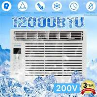 12000BTU Window Air Conditioner Quiet Cooling 24H Timer 3600W Dehumidification