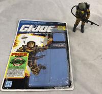 GI Joe 1990 Freefall V1 100% Complete w/ Uncut Card & Bubble Hasbro ARAH Vintage