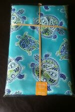 NEW Tommy Bahama Paisley Turtle Indoor/Outdoor Tablecloth Oblong 60x84 in Summer