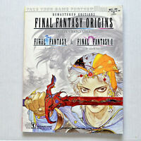 Final Fantasy Origins Official Strategy Guide for PS1 (2003, Paperback)
