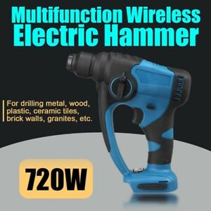 18V Brushless Rotary Hammer Drill Electric Demolition Hammer Impact Drill tool