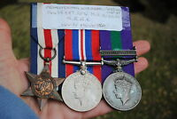 KRRC WW2 and gsm court mounted medal group