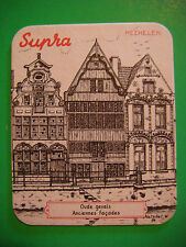 Beer Coaster: SUPRA Brewery, Mechelen, BELGIUM ~*~ Oude Gevels Anciennes Facades