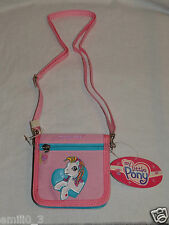 NEW WITH TAGS MY LITTLE PONY  PINK STRAP COIN WALLET