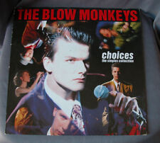 "LP 12"" 33 rpm THE BLOW MONKEYS - CHOICES SG collections"