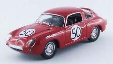 Best MODEL 9510 - Fiat Abarth 950S #50 24H du Mans - 1960 Guichet  1/43
