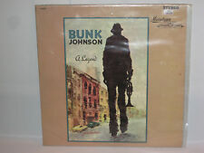Bunk Johnson A Legend LP Mainstream Records S/6039 56039 NM/VG++ Commodore Jazz