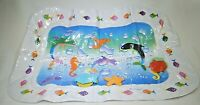 "Inflatable Baby Water Mat Childrens Water Play Mat 23 3/4"" x 17 1/2"" T3"
