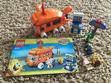 LEGO SpongeBob Set 3830 The Bikini Bottom Express Box Instructions Complete!