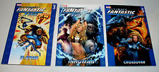 ULTIMATE FANTASTIC FOUR VOLUMES #3 #4 AND #5 TRADE PAPERBACKS - 1ST MARVEL ZOMBI