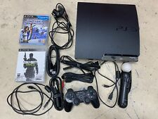Sony PlayStation 3 Slim Move Bundle 320GB Charcoal Black Console (PS398470)