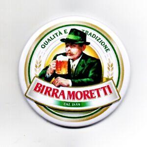 "Birra Moretti Jumbo Fridge Magnet Beer Mat Bar Keg 3"" 75mm Blade Sub Badge 4"