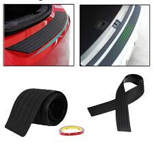 """35"""" Rear Guard Bumper Protector Trim Cover Sill Trunk Scuff  Rubber Plate Strip"""