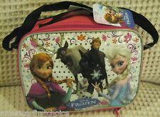 Disney Frozen Anna Elsa Olfa Sven Insulated Lunch Bag Lunch box-Brand New!