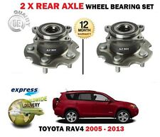 FOR TOYOTA RAV4 2.0 VVTI 2.2 D4D + 4X4 2005->NEW 2X REAR AXLE WHEEL BEARING SET
