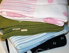 New Baby Knitted Blanket - Free Postage