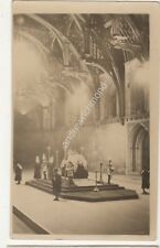 Vigil For The Late King George V 1936 RP Postcard 690b