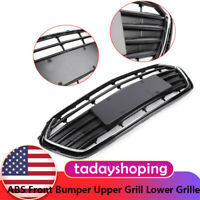 ABS Front Bumper Upper Grill Lower Grille Black For Chevrolet Trax 2017,2018 USA