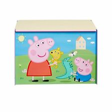 Peppa Pig boite À Jouet pour Enfants jeux Stockage Meuble