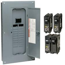 NEW Square-D 100-Amp 20-Space 40-Circuit Indoor Main-Breaker Panel Load-Center