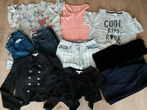 Girls Clothes Bundle Inc Next Tops Johnnie B Shorts Red Herring Jacket 11-12 Yrs