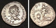 DENARIO SETTIMIO SEVERO 193-211 dc ( g:3,30 ) VICTORIAE