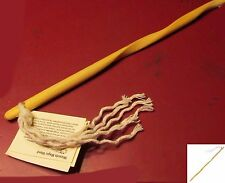 4Ground Armoury Wizards Magic Wand Wood Pine & Rope Mage Sorcerer Cosplay Prop