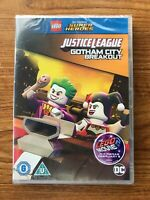 LEGO DC Justice League: Gotham City Breakout  (DVD, 2016) Brand New Sealed