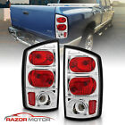 2002-2006 Dodge Ram 150025003500 Truck Red Clear Brake Tail Lights