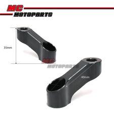 10mm Mirror Riser Extender Adapter Honda Hornet CB 600 900 F 01-14 12 13 10