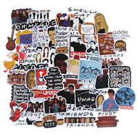 50Pcs Friends stickers DIY scrapbooking album luggage laptop phone decal ZB MC